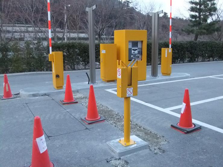 勝尾寺 駐車場ゲート1