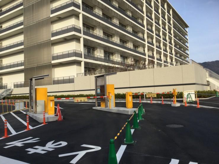 駐車場出口 (3)