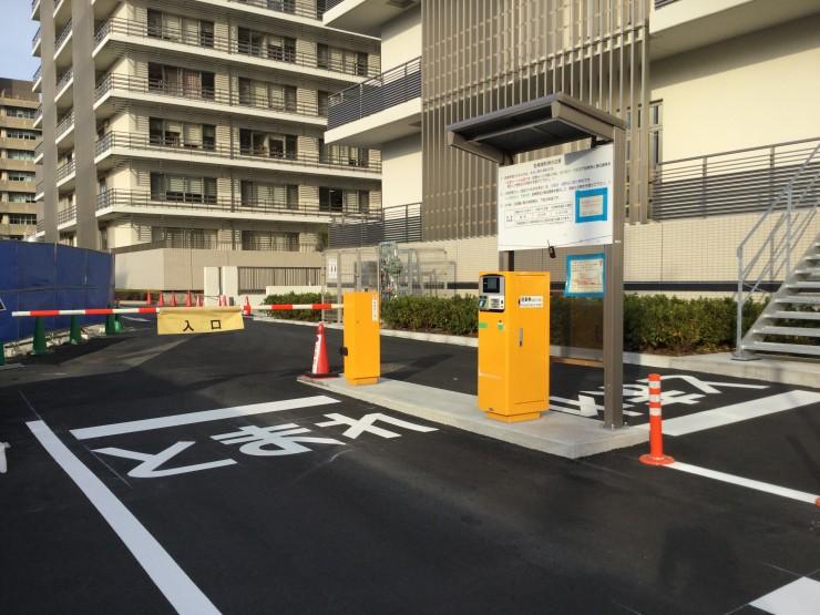 駐車場入口 (2)