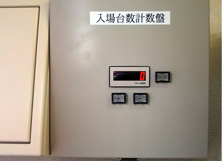 台数表示器